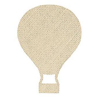 Spellbinders varmluft ballong kontur stål regel dø (SR-089)