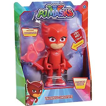 The pyjama heroes Deluxe talking figure, Ugglis
