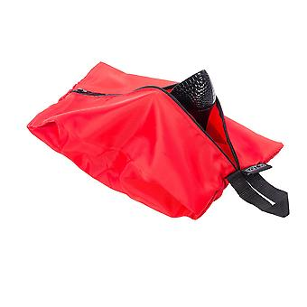 Confezione impermeabile di 4 bagagli da viaggio organizzatore borse cerniera rosso (2 x standard 2 x large)