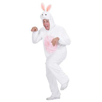 Plys Bunny (hætteklædte buksedragt med maske)