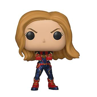 Funko POP Bobble Avengers Endspiel Captain Marvel Figure Toy