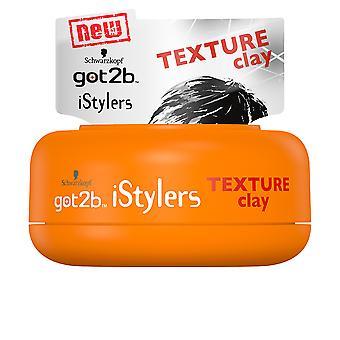 Schwarzkopf Got2b Istylers Texture Clay 75 Ml Unisex