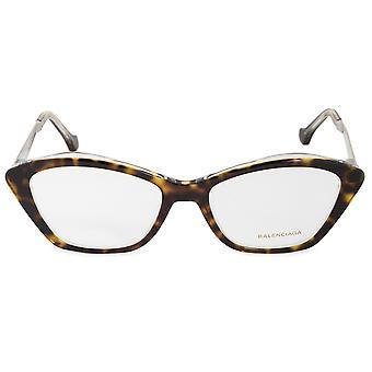 Balenciaga BA 5040 053 53 نظارات العين القط إطارات
