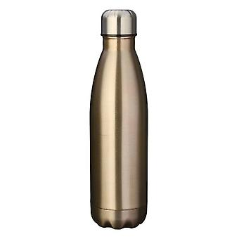 Insulated stainless steel water bottle-Gold