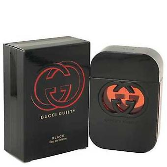 Gucci Guilty Black By Gucci Eau De Toilette Spray 2.5 Oz (women) V728-499599