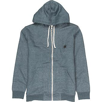 Billabong Hele Dagen Sherpa Hoody i Mørk Skifer Heather