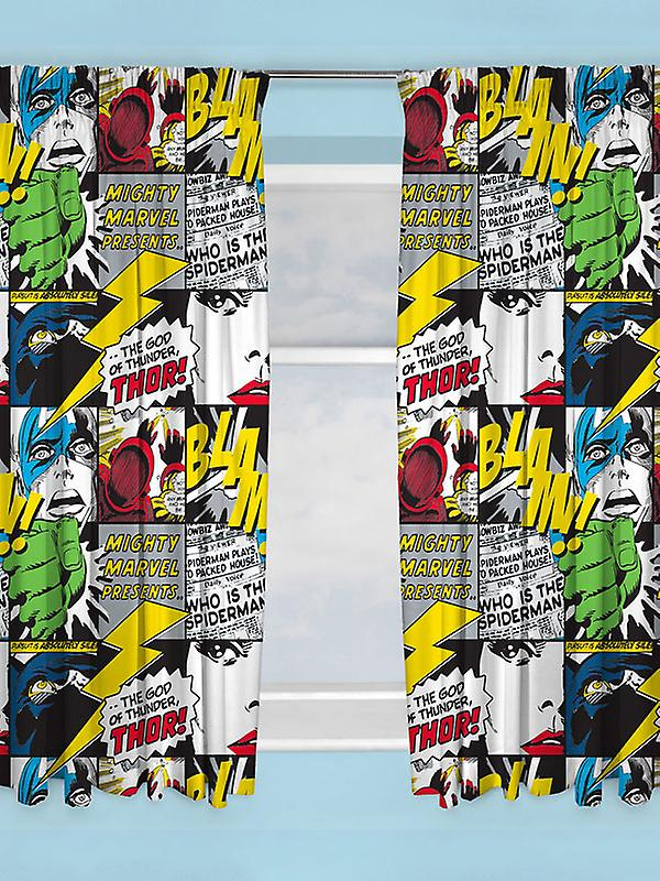 Marvel Comics Scribble Curtains