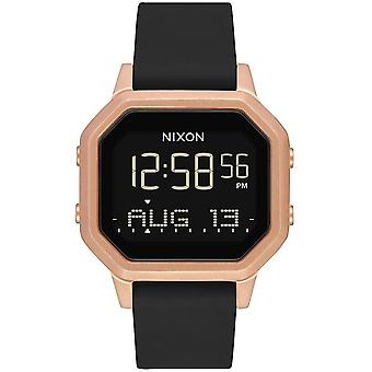 Nixon the Sirene Automatic Digital Men's Watch with Silicone Bracelet A12111098