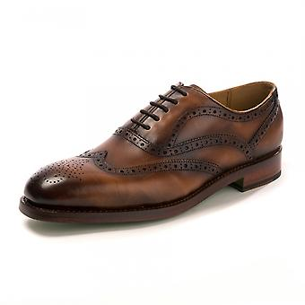 Oliver Sweeney Oliver Sweeney Stoneygate Dark Tan Shoe