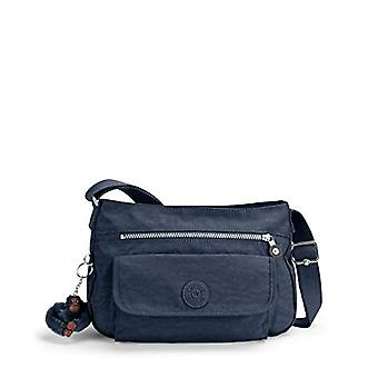 Kipling Syro Blue Women's Crossneck Bag (True Blue) 31x22x12.5 cm (W x H x L)
