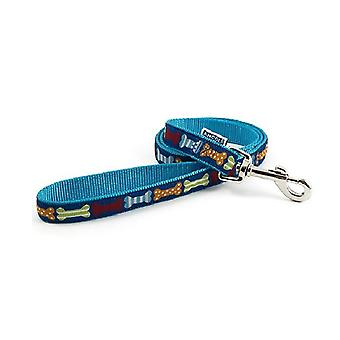 Ancol Nylon Bones Dog Lead