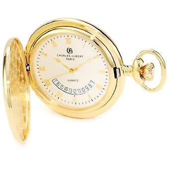 Charles-Hubert Unisex Ref Clock. 3900-G