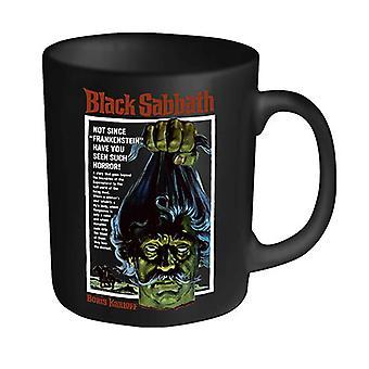Black Sabbath кружка Винтаж Ужасы плакат новый официальный план 9 черный в штучной упаковке