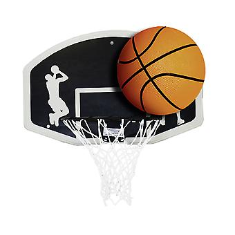 Charles Bentley Kinder Basketball Ring Netz und Ball Set offizielle Größe 7 Basketball
