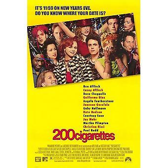200 Zigaretten (doppelseitig) Original Kino Poster