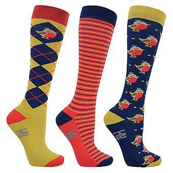 HyFASHION Unisex Mr Robin Socks (3 Pairs)