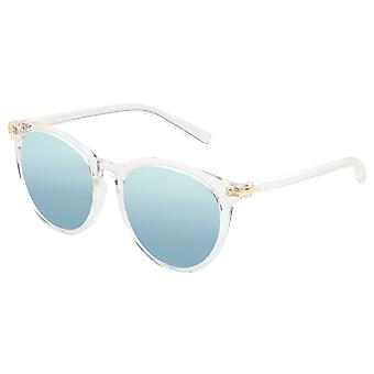 Sixty One Palawan Polarized Sunglasses - Clear/Silver