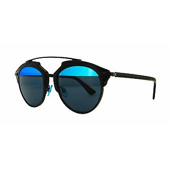 Dior So Real B0Y/Y0 Black Blue/Blue Multilayer Sunglasses
