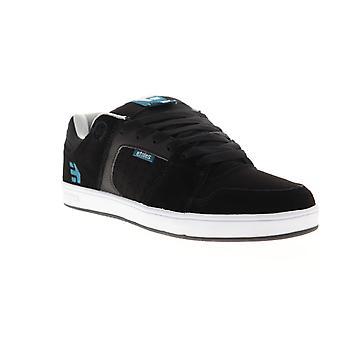 Etnies Rockfield  Mens Black Suede Athletic Skate Shoes