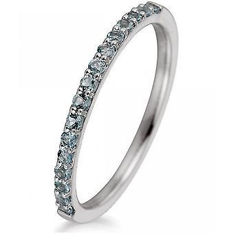 Gemstone Ring Topaz 0.32 ct. Size 52