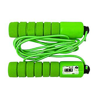 Jump Rope with automatic counter, green