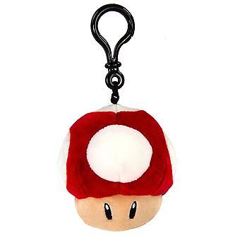 Nintendo - Mario Kart - Mushroom Clip-on Plush Gaming Merchandise