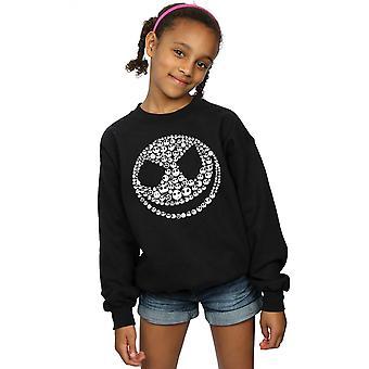 Disney Mädchen Alptraum vor Weihnachten Jack Schädel Collage Sweatshirt