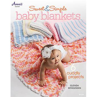 Sweet & Simple Baby Blankets - 6 Cuddly Projects by Glenda Winkleman -