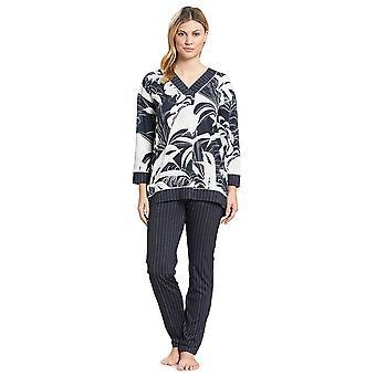 Féraud 3191068-11998 Kvinner's Couture Smokey Blå Bomull Pyjamas Sett