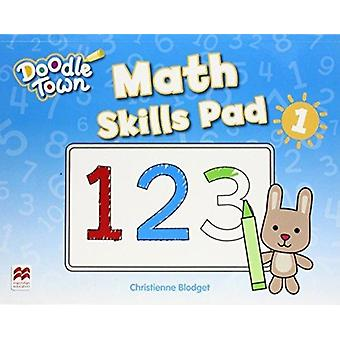 Doodle Town Level 1 Math Skills Pad by Caroline Linse