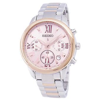 Reloj Seiko Lukia Chronograph Quartz SRWZ90 SRWZ90P1 SRWZ90P Mujer's