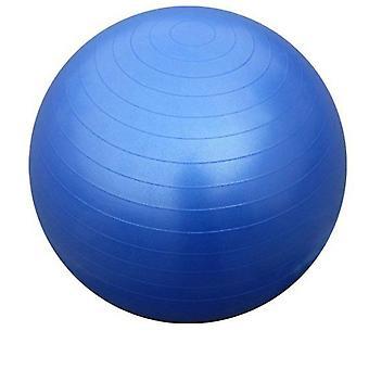 Kabalo blauw 65cm ANTI BURST GYM oefening Zwitserse YOGA FITNESS bal voor zwangerschap, geboorte, etc (inclusief pomp)
