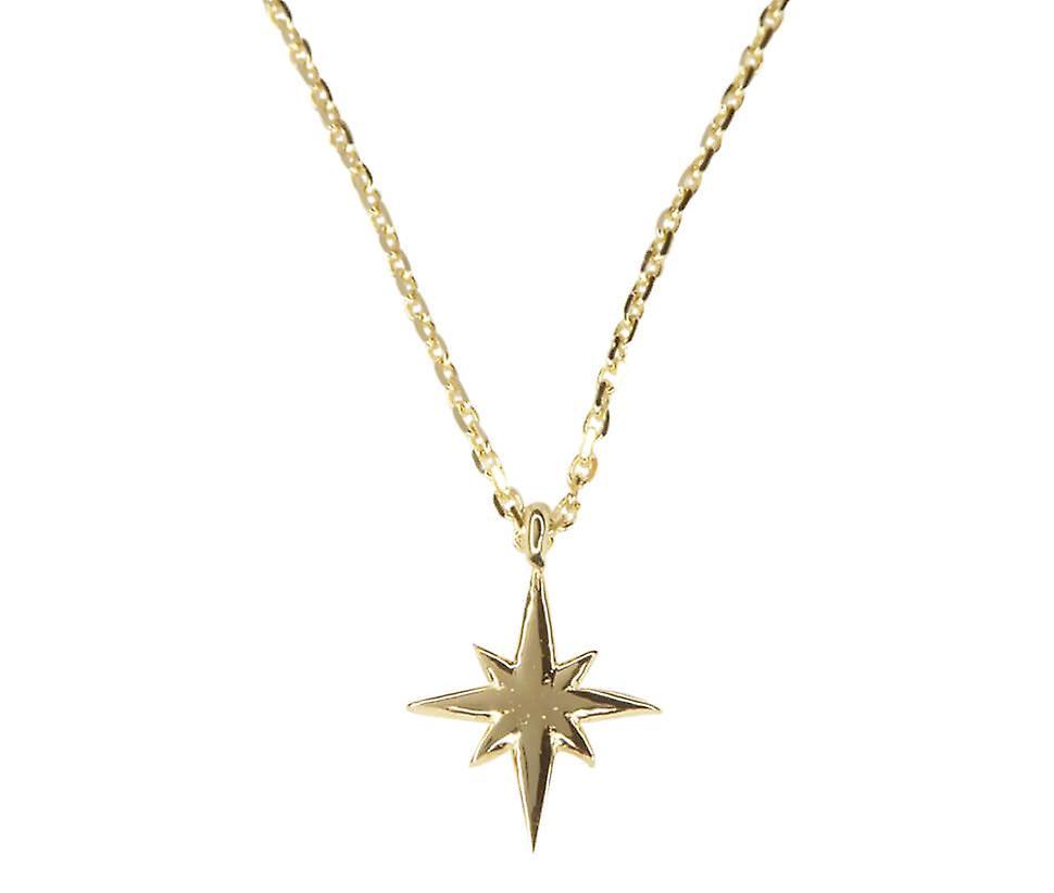 Gouden ketting met ster hanger