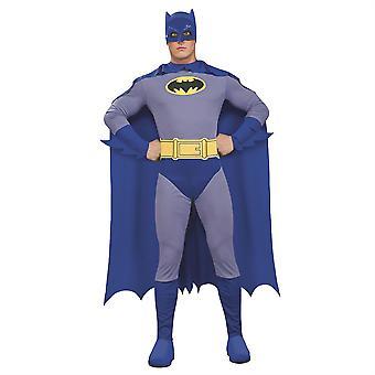 Mens Batman Fancy Dress Costume Superhero