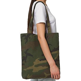 greenT Mens & Womens Organic Woven AOP Casual Tote Bag