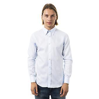Men's Light Blue Long Sleeve Shirts