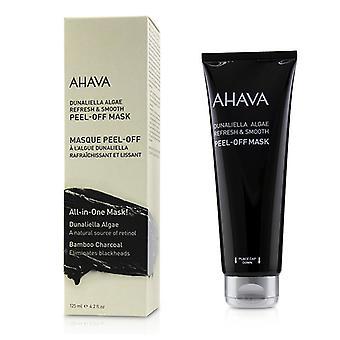 Ahava Dunaliella Algae Refresh & Smooth Peel-off Mask - 125ml/4.2oz