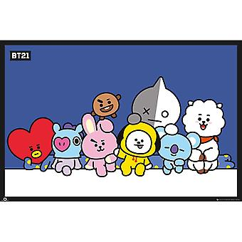 Maxi Poster, BT21 - Group
