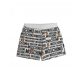 Moschino All Over Logo Shorts