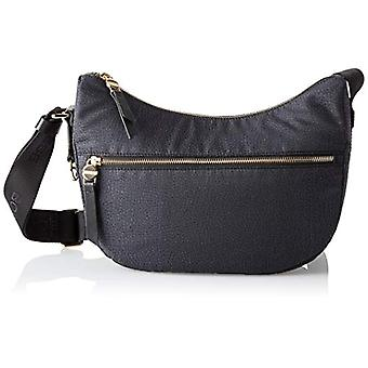 Borbonese Luna Bag Black Women's Strap Bag 28x24x11 cm (W x H x L)