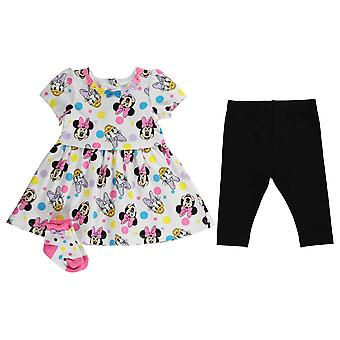 Character Kids 3 Piece Dress Baby03 Dress Leggings Socks Cotton Set