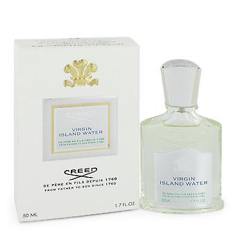 Virgin Island Water by Creed Eau De Parfum Spray (Unisex) 1.7 oz / 50 ml (Women)