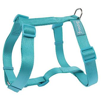 Freedog Nylon harness 10mm basic Turquoise