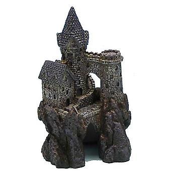 Sandimas Magisches Schloss 14 cm. (Fische , Aquariumsdeko , Ornamente )