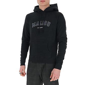 Saint Laurent 603281ybpy21050 Männer's schwarz Baumwolle Sweatshirt
