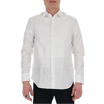 Maison Margiela S50dl0424s52646100 Men's Camisa de Algodão Branco