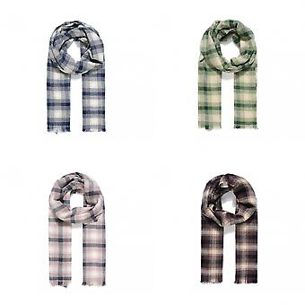 Intrigue Womens/Ladies Thick Check Scarf