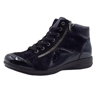 ريكر L3633-14 أسانا أحذية الكاحل الرياضية باللون الأزرق