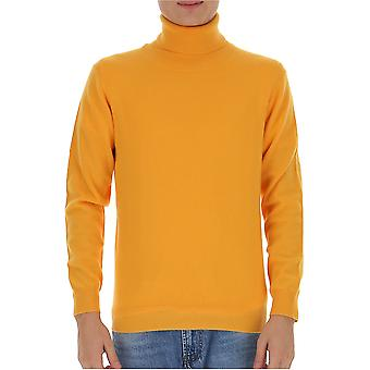Laneus K2152cc11giallo Men's Yellow Wool Sweater