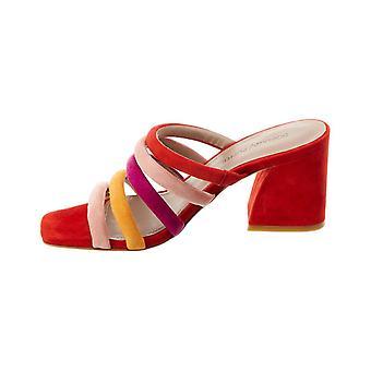 Donald J Pliner Womens Wes-Ks Leather Open Toe Special Occasion Mule Sandals